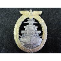 Germany: Kriegsmarine High Seas Fleet badge
