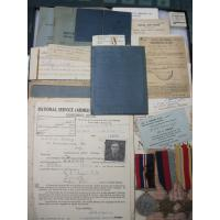 Britain: WWII RAF medals and documents