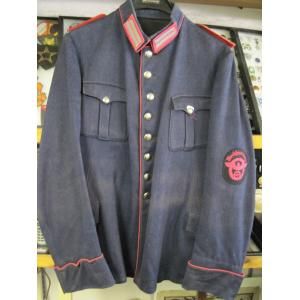 Germany, WWII period factory fireman's uniform