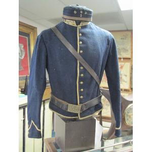 US: Civil War Cavalry Grouping with tunic, belt, cap, and sword