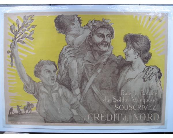 WWI French Patriotic poster by Carlu
