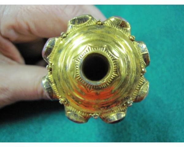 Indonesian figural Gold Kris hilt